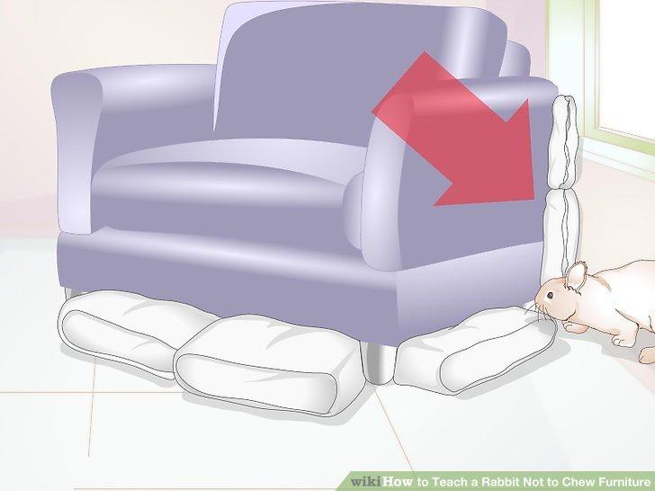 Blockieren Sie die Rückseite Ihrer Möbel.