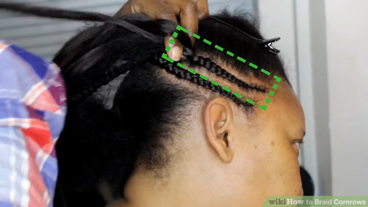 How To Braid Cornrows 12 Steps With Pictures WikiHow