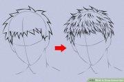 6 ways draw anime hair - wikihow