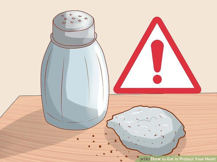 Reduzieren Sie Ihr Risiko für Bluthochdruck mit einer salzarmen Diät.