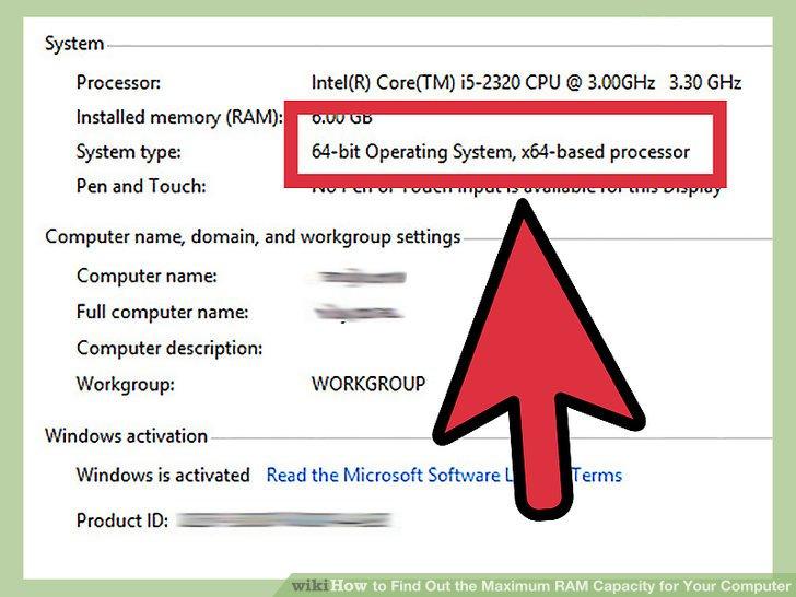 Stellen Sie fest, ob Windows 32-Bit oder 64-Bit ist.