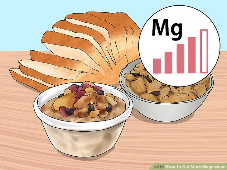 Bauen Sie Körner in Ihre Ernährung ein.