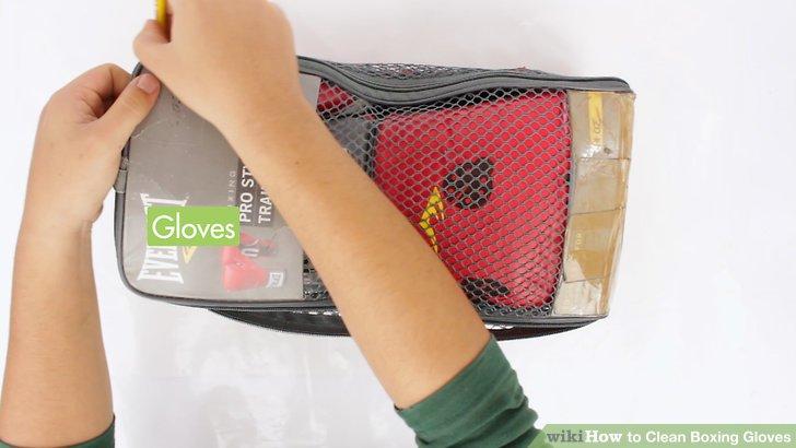 Nehmen Sie die Handschuhe so schnell wie möglich aus Ihrer Sporttasche.