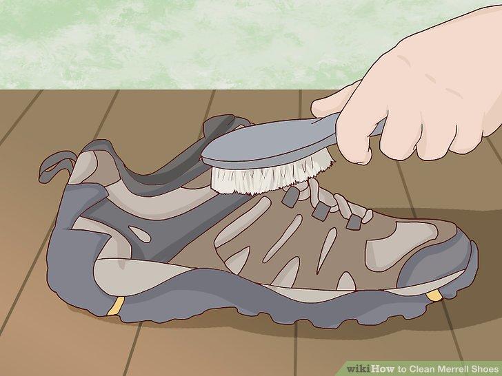 Brush off small amounts of dirt regularly.