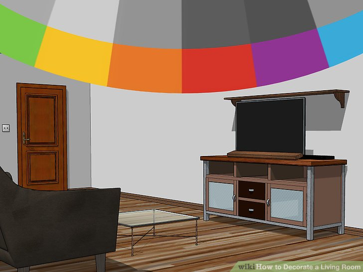 3 Ways to Decorate a Living Room  wikiHow
