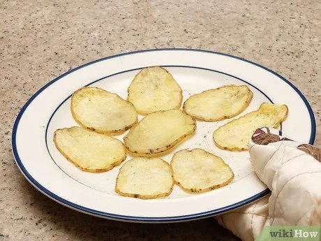 how to make microwave potato chips 13