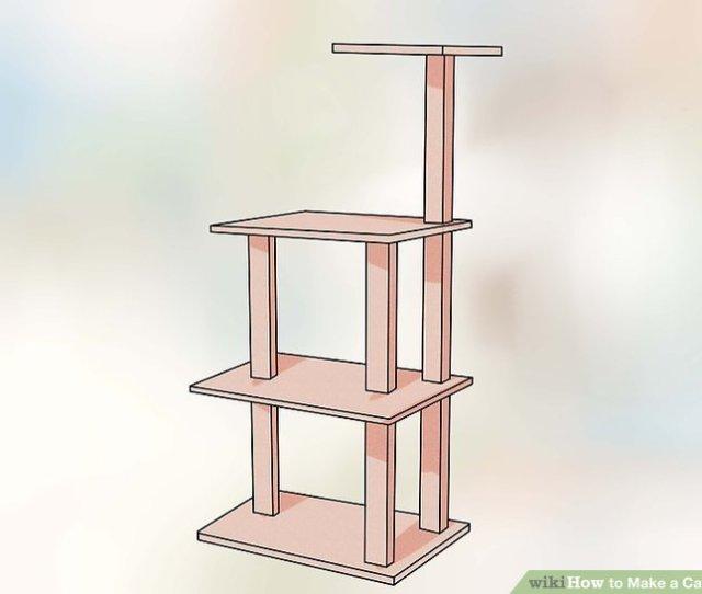 Image Titled Make A Cat Tree Step