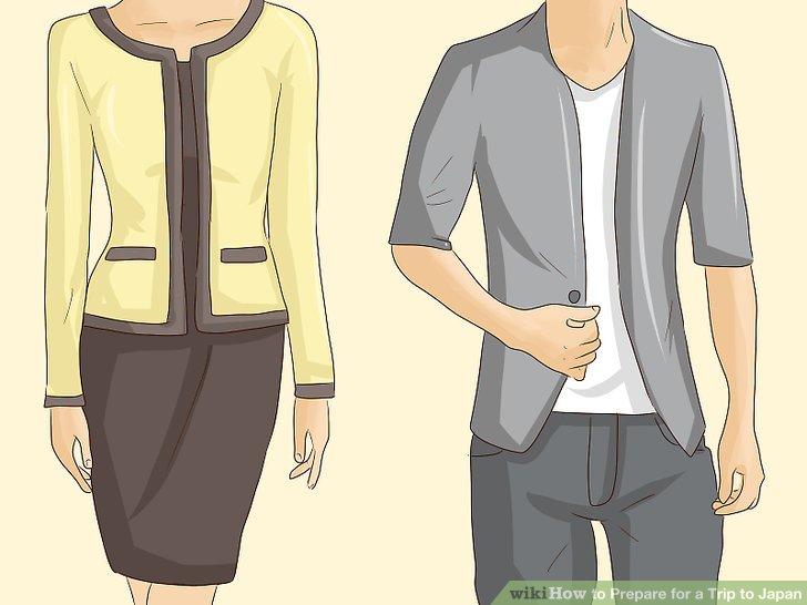 Bringen Sie formelle Kleidung mit.