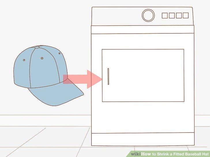Throw the cap in the dryer.