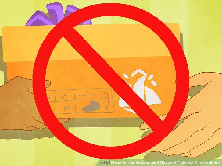 Vermeiden Sie es, Schuhe an Freunde oder andere wichtige Personen zu geben.