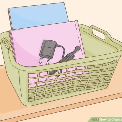 Clean Living Room Blue Couch Rooms How To A With Pictures Wikihow Image Titled Step 16