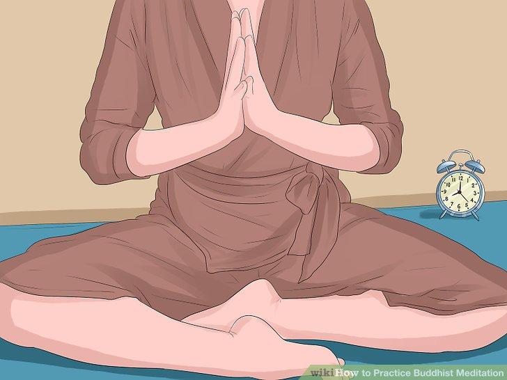 Erhöhen Sie die Länge Ihrer Meditation.