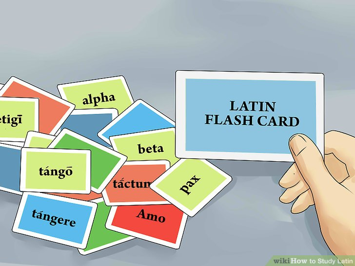 Make and use flash cards.