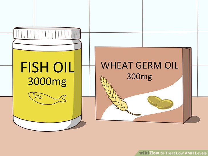Take fish oil and wheat germ supplements every day.