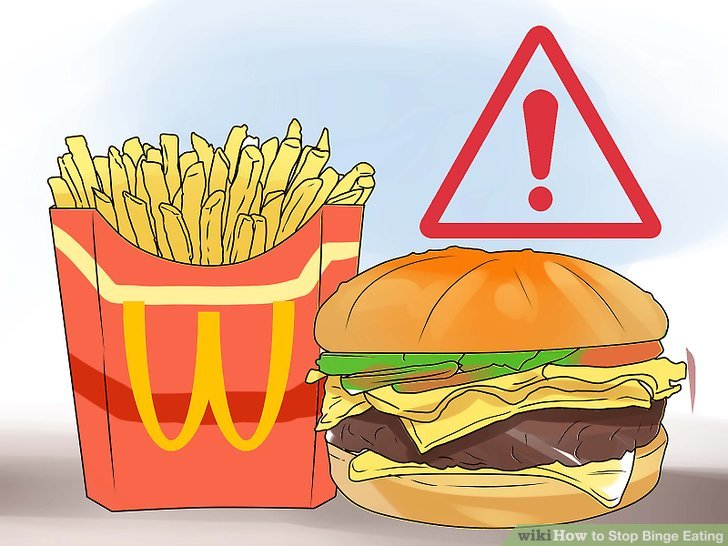 Avoid trigger foods or situations.