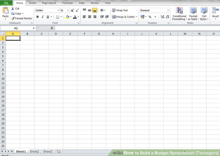 How To Set Up A Horse Budget Spreadsheet - The Printable