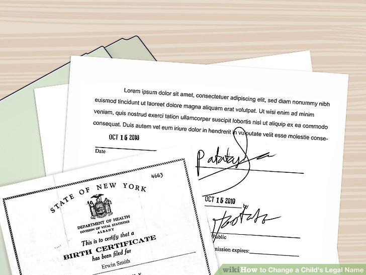 Sammeln Sie die notwendigen Unterlagen.