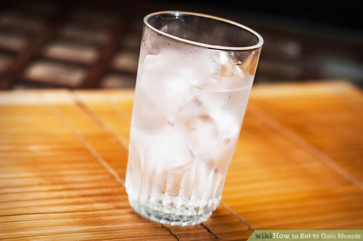 Drink plenty of water all throughout the day.