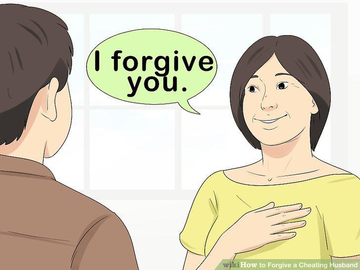 Denken Sie daran, dass Vergebung für Sie ist.