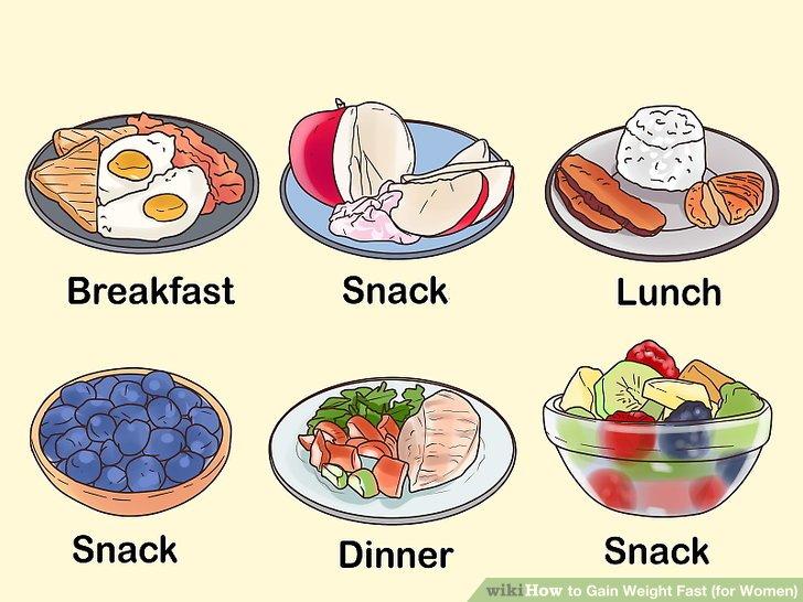 Essen Sie mehrere kleine Mahlzeiten, wenn Sie keine größeren Mahlzeiten mögen.
