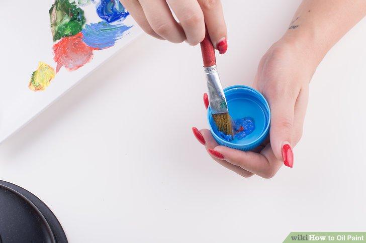 Turpentine Painting Technique