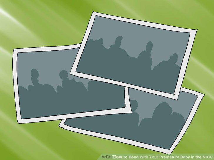 Kleben Sie Familienfotos im Babybereich auf, um den Bereich zu personalisieren.