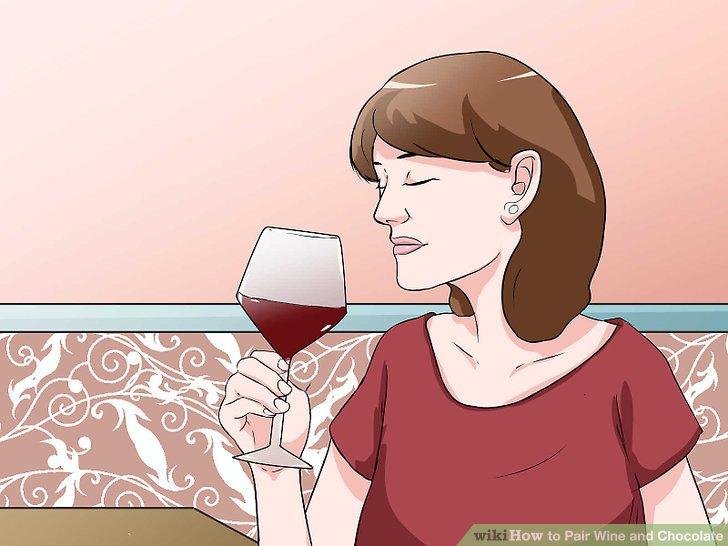 Gönnen Sie sich einen süßen Wein.