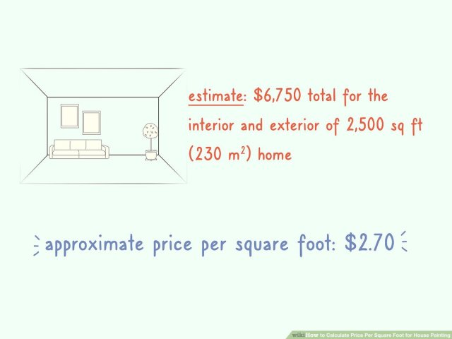 28 Ways to Calculate Price Per Square Foot for House Painting