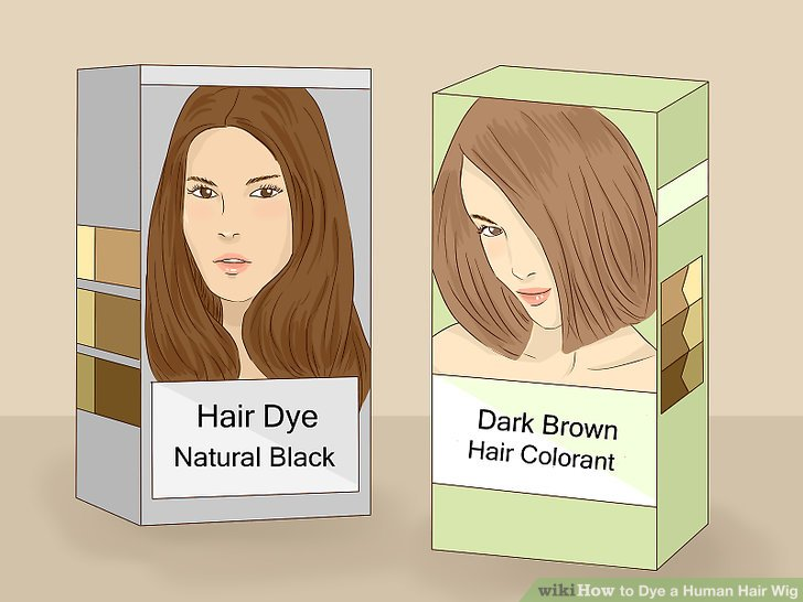 How To Dye A Human Hair Wig 13 Steps With Pictures