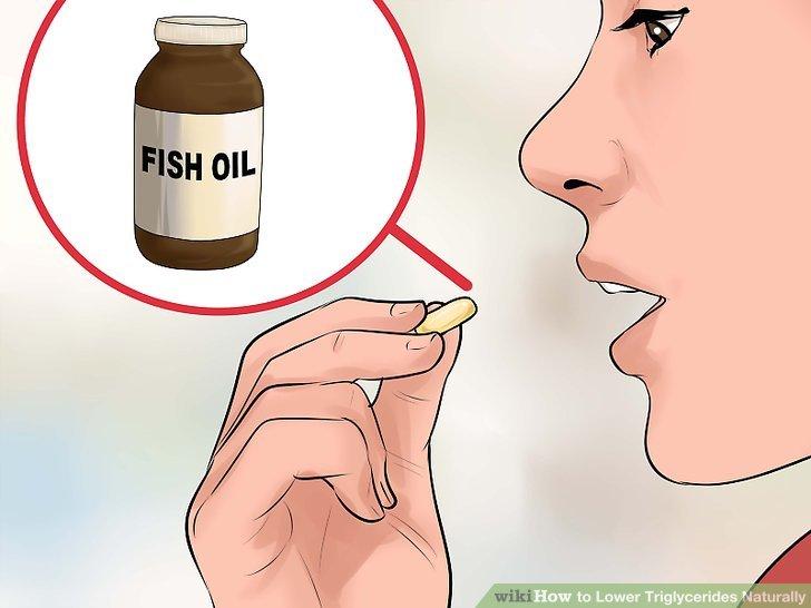 Nehmen Sie Fischöl-Ergänzungen.
