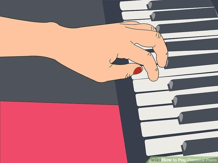 Practice crossing your fingers evenly.