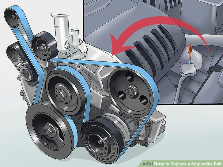 Need A Diagram Of A Serpentine Belt Solved Fixya