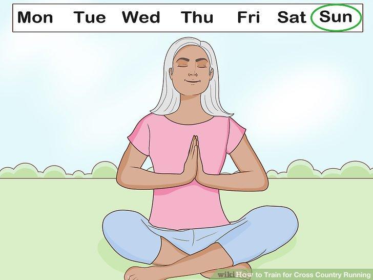 Machen Sie einen Ruhetag pro Woche als Teil Ihres Cross-Training-Zeitplans.