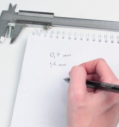 how to use a vernier caliper 10 steps with pictures wikihow diagram of vernier caliper fowler [ 1200 x 675 Pixel ]