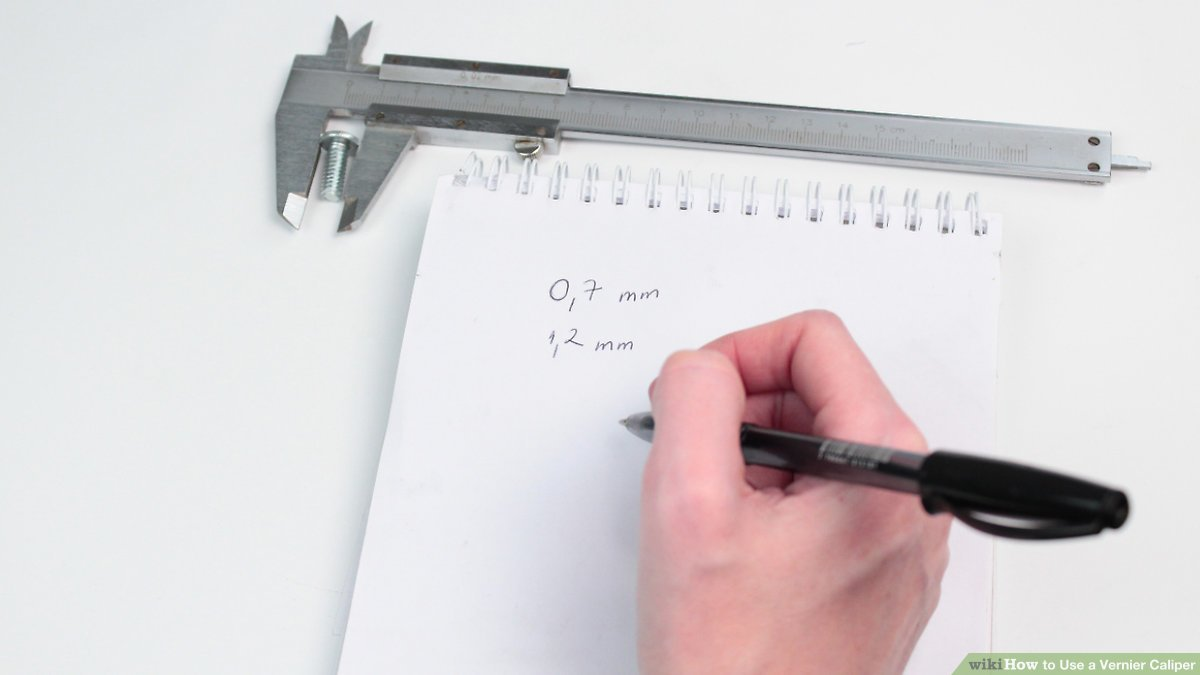 hight resolution of how to use a vernier caliper 10 steps with pictures wikihow diagram of vernier caliper fowler