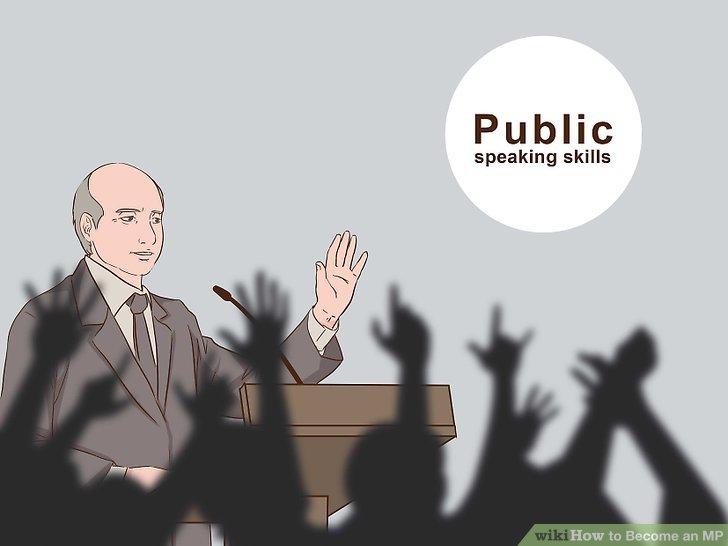 Verbessern Sie Ihre öffentlichen Sprechfähigkeiten.