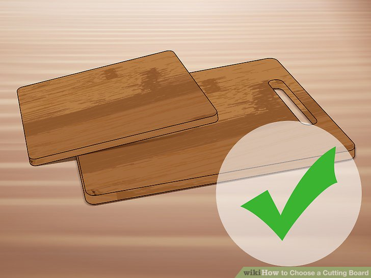 Choose a bamboo board for sustainability.