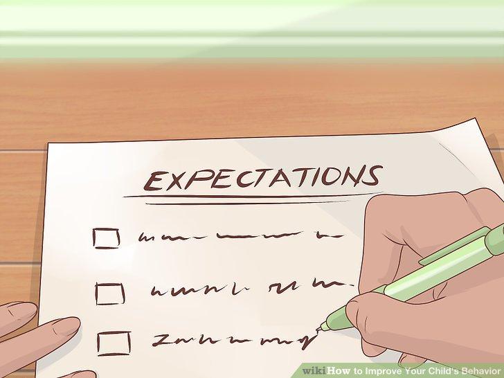 Kommunizieren Sie Ihre Erwartungen an das Verhalten Ihres Kindes klar und deutlich.