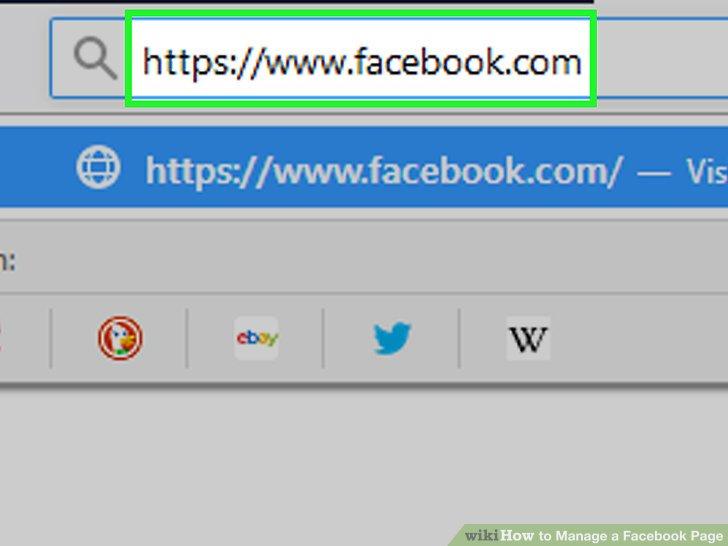 Öffne Facebook.