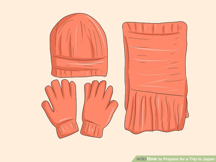 Packen Sie warme Kleidung für kalte Monate.