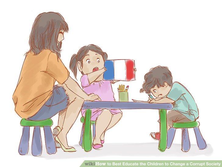 Machen Sie Ihr Kind auf andere Länder aufmerksam.