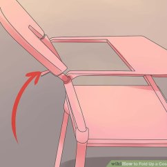 How To Fold Up A Cosco High Chair Fabric Dining Chairs With Arms Pictures Wikihow Image Titled Step 8