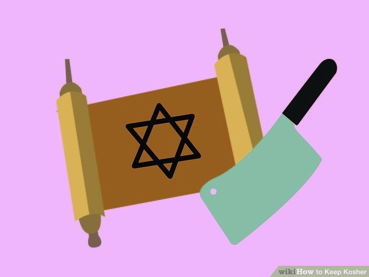 Essen Sie Fleisch, das gemäß jüdischem Gesetz geschlachtet wurde.