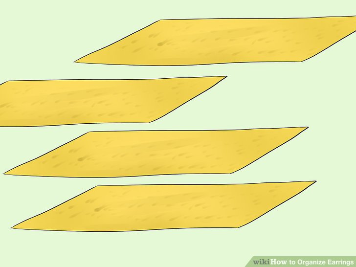 Cut several strips of felt that are the same length as the inside of your box.