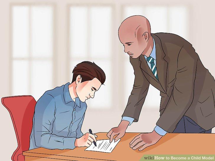 Unterschreiben Sie mit einer Agentur.