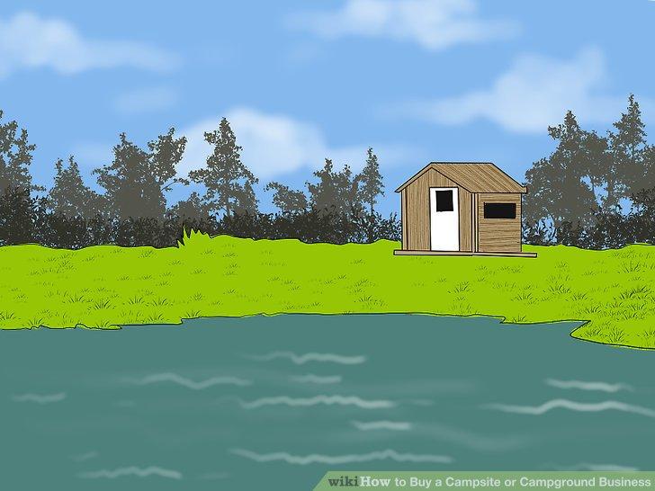 Es ist üblich, dass kleine, von Familien geführte Campingplätze mit einem Haus für den Eigentümer ausgestattet werden.