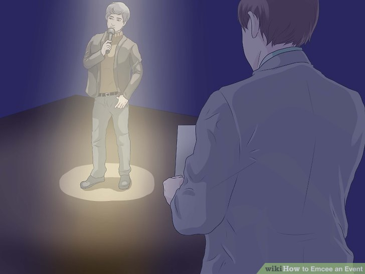 Stay near the stage during all presentations.