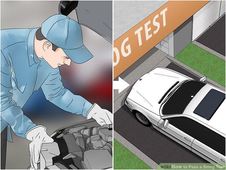 Retake the smog test until the car passes.
