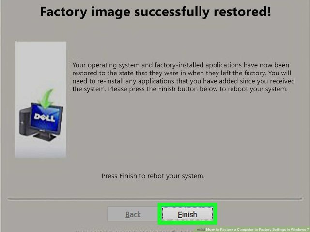 227 Ways to Restore a Computer to Factory Settings in Windows 27