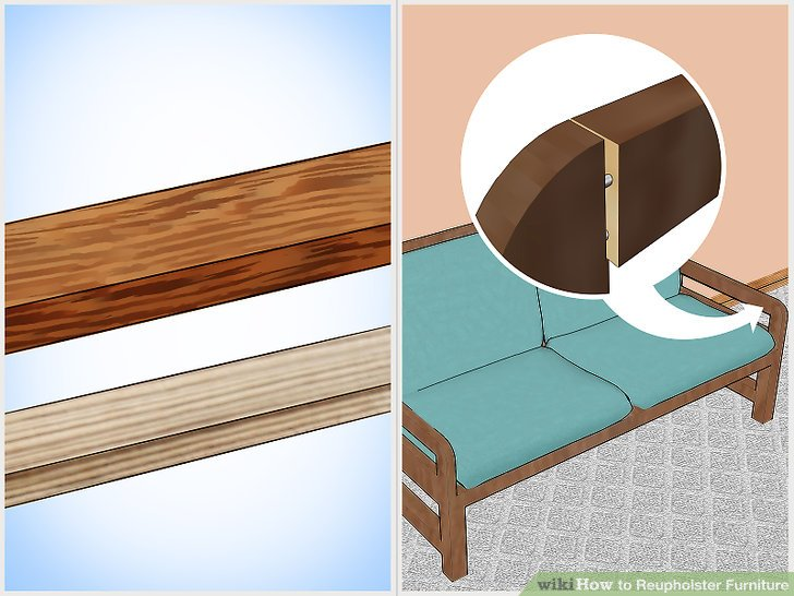 reupholstering sofas stetson reclining sofa how to reupholster furniture 10 steps with pictures wikihow image titled step 1